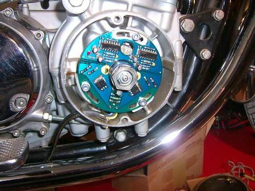 Elektrische Zündung - CB 350 - 750 Four IG