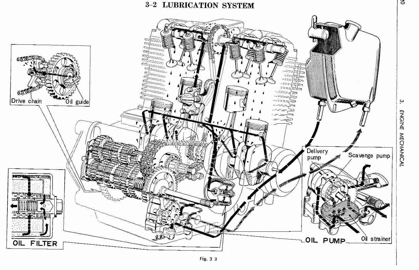 cb350 engine diagram