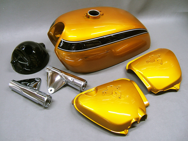 Cb750 k2 daten cb 350 750 four ig for Metallic yellow paint